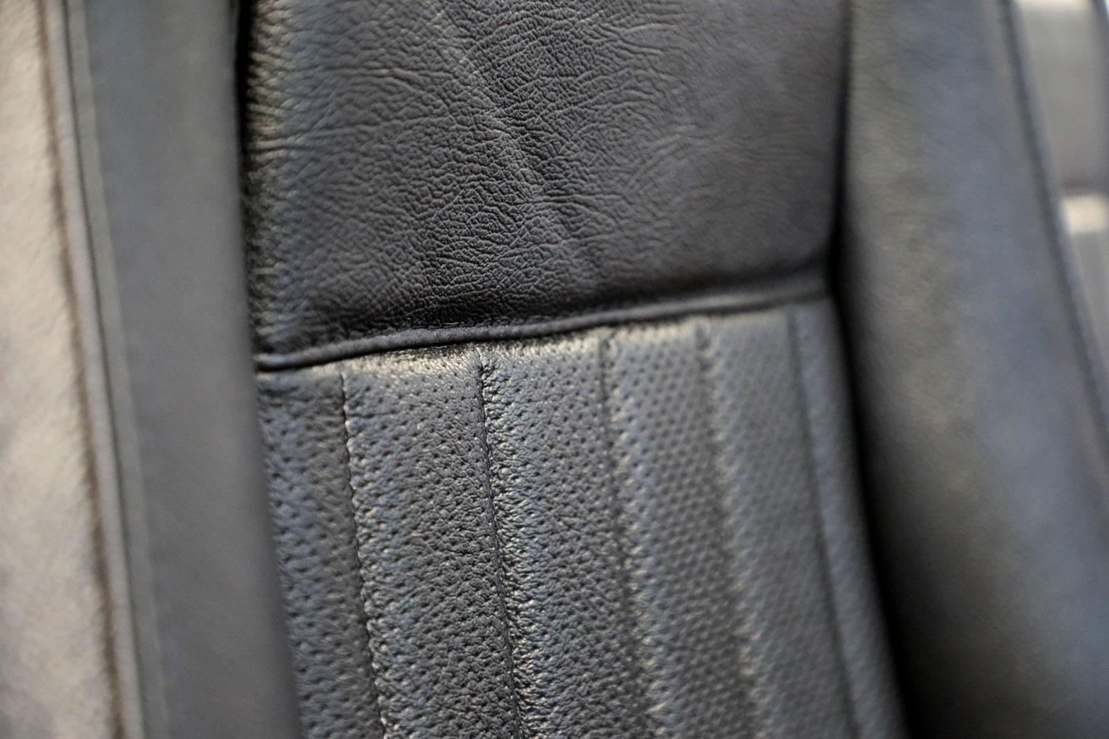 Sattlerei K.M. Lederdesign, Polsterer, Recaro Sitze vorn Sattlerei Autositze beziehen Naht